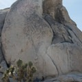 Intersection Rock's North Overhang.- Intersection Rock - Climbing Crag