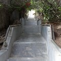 The access stairs don't quite count to one thousand steps, but there's still plenty.- Thousand Steps Beach