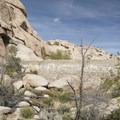 Barker Dam.- Barker Dam Trail