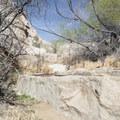 Cattle trough. - Barker Dam Trail