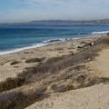 Looking north toward San Clemente.- Trestles Beach