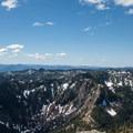 View of Mount Beachie.- Battle Ax Mountain
