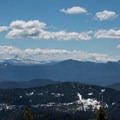 Mount Washington and the Three Sisters.- Battle Ax Mountain