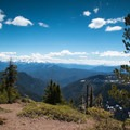 View from the summit of Battle Ax Mountain.- Battle Ax Mountain