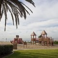 The playground at Aliso Beach Park.- Aliso Beach Park