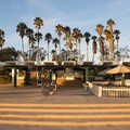 Cafe and beach rental facility.- Doheny State Beach
