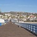 Nice views of the coastline.- San Clemente City Beach + Pier