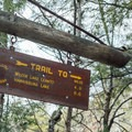 The trail is well marked.- Hope Falls/Tenant Creek Falls