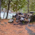 One or two fireplaces are available.- Buttermilk Falls