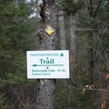 The Northern Forest Canoe Trail has a portage around Buttermilk Falls.- Buttermilk Falls