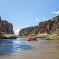 Entering the first canyons on the Lower Owyhee River. - Owyhee River: Rome to Birch Creek