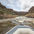 Rapids along the lower Owyhee vary in difficulty depending on the water levels.- Owyhee River: Rome to Birch Creek
