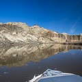 Beautiful chalk walls line the middle section of the river.- Owyhee River: Rome to Birch Creek