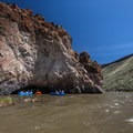 Small cave along the river.- Owyhee River: Rome to Birch Creek
