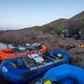 Morcum Camp.- Owyhee River: Rome to Birch Creek