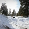 Glacier Way Trailhead.- Donner Ridge Snowshoe via Glacier Way Trailhead