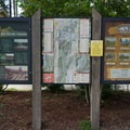 Main kiosk at the visitor center.- L.L. Stub Stewart State Park Mountain Bike Trails: Freeride + XC Loop