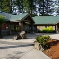 Visitor center.- L.L. Stub Stewart State Park Mountain Bike Trails: Freeride + XC Loop