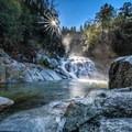 Crystal Creek Falls.- Crystal Creek Falls