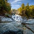 Crystal Creek Falls. - Crystal Creek Falls