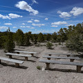 Campground amphitheater.- Berlin-Ichthyosaur State Park Campground