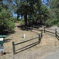 The Canyon Oak Trailhead.- Canyon Oak Trail