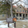 Albright Visitor Center is located near the Mammoth Hot Springs.- Mammoth Hot Springs
