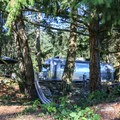 There are also Airstream trailers available for rent at the resort.- San Juan Island: Lake Dale Resort + Campground