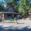 The general store has all the basics you may have left at home.- San Juan Island: Lake Dale Resort + Campground