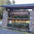 Lake Dale Resort on San Juan Island.- San Juan Island: Lake Dale Resort + Campground