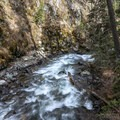The Wallowa River.- BC Falls Hike