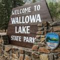 Wallow Lake State Park.- Wallowa Lake State Park