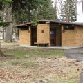 Restrooms are ADA accessible. - Wallowa Lake State Park
