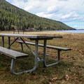Picnic by the lake.- Wallowa Lake State Park