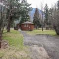 One of the two yurts available. - Wallowa Lake State Park Campground
