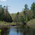 Looking downstream from the put-in- Beaver River Canoe Trail