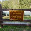 Canoe rests can be found on the longer portages.- Beaver River Canoe Trail