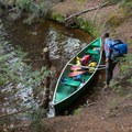 The island has a shallow cove to harbor your craft.- Beaver River Canoe Trail