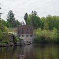 The Effley Falls Dam and Effley Falls Powerhouse.- Beaver River Canoe Trail