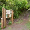 The Carter Dunes Trailhead starts in Carter Lake Campground.- Carter Lake Campground