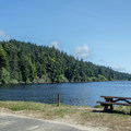 Carter Lake in the Oregon Dunes National Recreation Area.- Carter Lake Campground