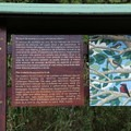 Los Gemelos trail signage.- Los Gemelos