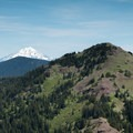 Mount Jefferson and Cone Peak.- Iron Mountain