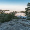 Above the clouds on Mount San Jacinto.- San Jacinto Peak via Marion Mountain Trail