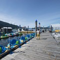 Private marina and boat rental at Harrison Hot Springs Beachfront.- Harrison Hot Springs Beachfront
