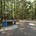 Hicks Lake Campground.- Hicks Lake Campground