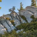 The distinctive granite formations in Mount San Jacinto State Park.- San Jacinto Peak via Marion Mountain Trail