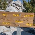 The summit of Mount San Jacinto sits at 10,834 feet.- San Jacinto Peak via Marion Mountain Trail