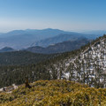 Views from the Marion Mountain Trail.- San Jacinto Peak via Marion Mountain Trail