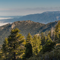 Valley view from Marion Mountain Trail.- San Jacinto Peak via Marion Mountain Trail